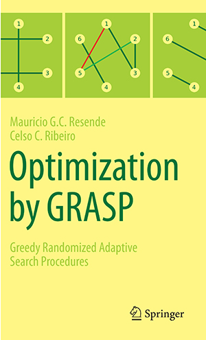 Optimization by GRASP cover