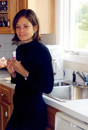 Renata in Holmdel in 1999